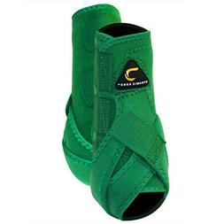 Large Cactus Gear Dynamic Edge Horse Hind Sport Boots Green