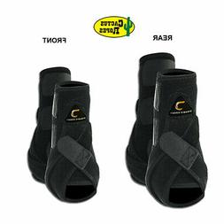C-PACK M - Black Cactus Rope Dynamic Edge Horse Front Hind R
