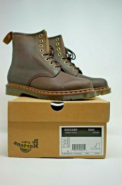 Dr. Martens 1460 Crazy Horse Leather 8-Eye Lace Up Boots - G