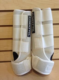 Iconoclast Hind Orthopedic Support Boots White LG