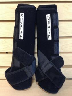Iconoclast Hind Support Boots ExtraTall Black XXXL