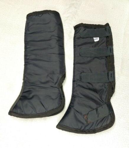 14 quilted shipping boots pre owned