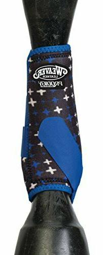 Weaver Prodigy Sport Boots- Blue with Crosses