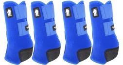 Classic Equine LEGACY2 SYSTEM Blue Front Hind Rear Value 4 P