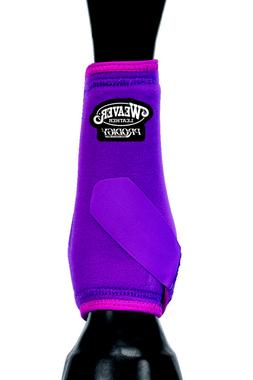PINK WEAVER WESTERN PRODIGY ATHLETIC HORSE LEG BOOTS TWO PAC