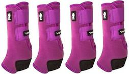 Classic Equine Plum LEGACY2 Front & Hind Horse Support Sport