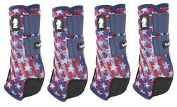 Classic Equine Stars & Stripes LEGACY2 SYSTEM Front Hind Val