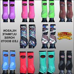 U-L,M,S Hilason Horse Front Hind Sport Boots Protection Ulti