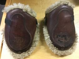 Used BEVAL LTD Italy SHEEPSKIN LINED HIND JUMP BOOTS - size